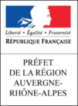 logo préfet de la région rhône alpes