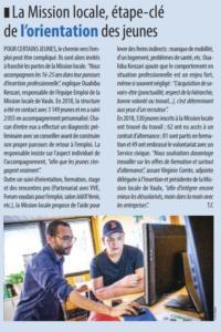 article de Vaulx Journal - N°200