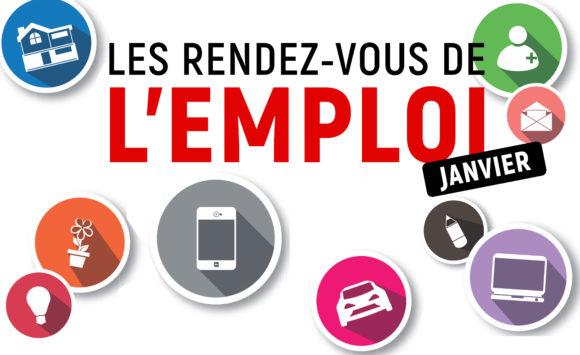 Rendez-vous de l'emploi – Janvier 2020