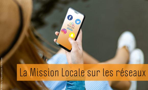La Mission Locale sur les réseaux sociaux