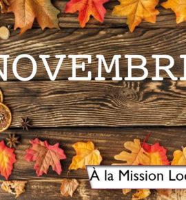 Novembre à la Mission Locale