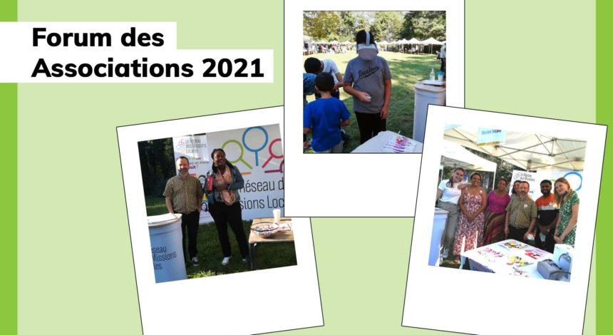 Le forum des associations 2021 en image